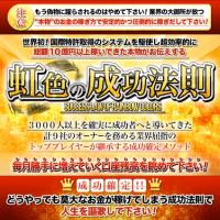 木村正木の虹色の成功法則は、ウソだらけの世界初の究極のFX手法?!